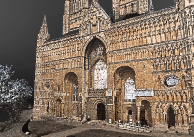 University of Nottingham & Lincoln Cathedral 360 video mobile application.
